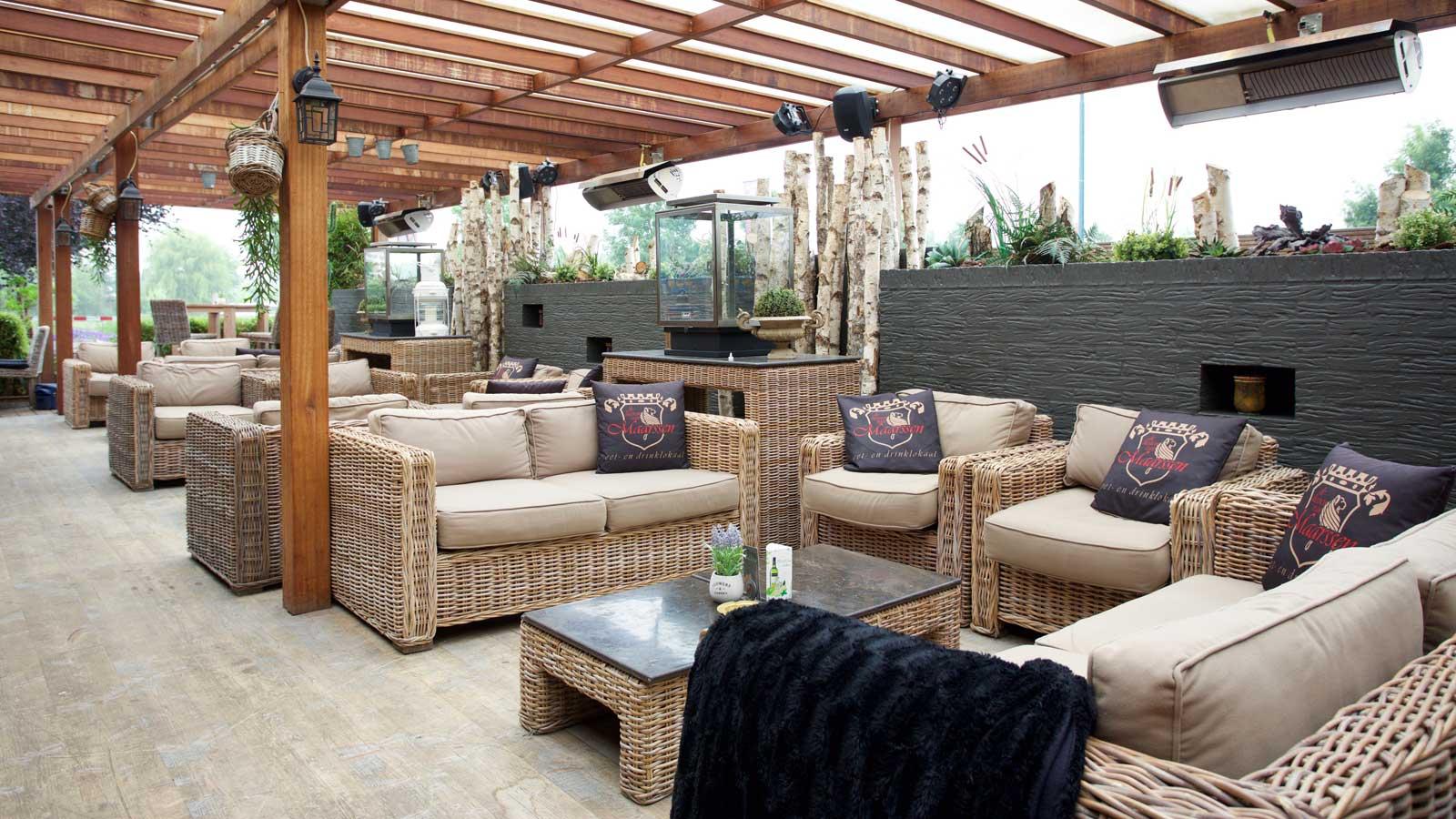 Lounge terras Restaurant De Heeren van Maarssen